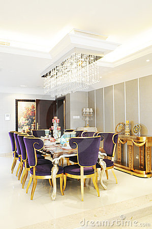 Free The Sweet Family Dinning Room Stock Photos - 7579203