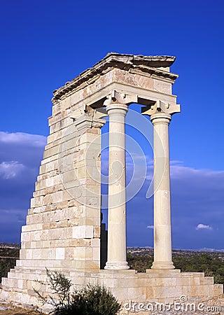 Free The Temple Of Apollo Stock Image - 9390881