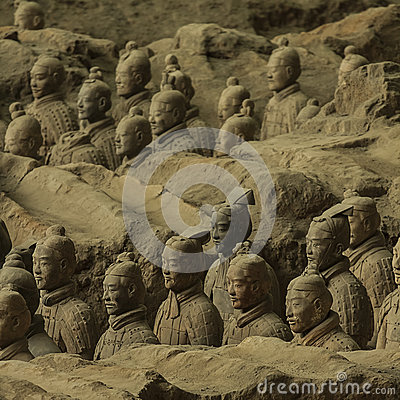 Free The Terracotta Army Stock Images - 41568964