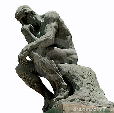 Free The Thinker Stock Photography - 5920292