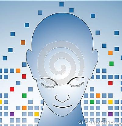 Free The Thinker Stock Image - 9666941