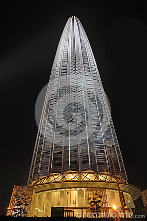 Free The Tianjin Tower At Night Royalty Free Stock Photography - 25509847