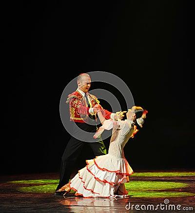 Free The Touching Love-Spanish Flamenco-the Austria S World Dance Royalty Free Stock Photos - 49526298