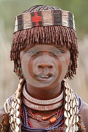 Free The Tribe Of Hamar In The Omo Valley Of Ethiopia Stock Image - 93041581