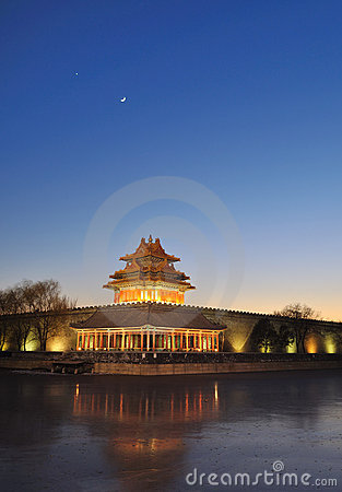Free The Turret Of The Imperial Palace In Forbidden Cit Stock Photos - 7686993