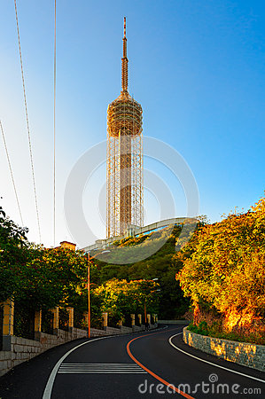Free The TV Tower Royalty Free Stock Photo - 29589085