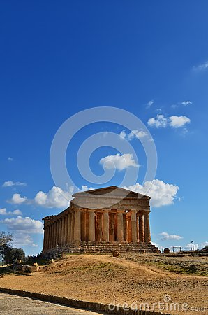 Free The Valley Of The Temples Is An Archaeological Site In Agrigento, Sicily, Italy Royalty Free Stock Photo - 143530035
