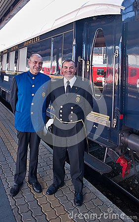 Free The Venice Simplon-Orient-Express - Conductors Royalty Free Stock Images - 54730809