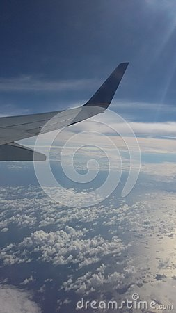 Free The View Of The Plane Royalty Free Stock Images - 49522669