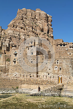 Free The Village Of Thula On Yemen Stock Image - 27263821
