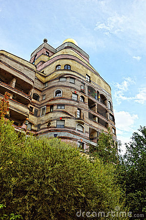 Free The Waldspirale Building Architecture Royalty Free Stock Photos - 21326298