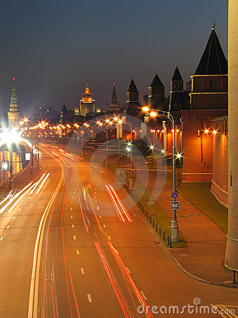 Free The Walls Of Moscow Kremlin. Royalty Free Stock Image - 2035426