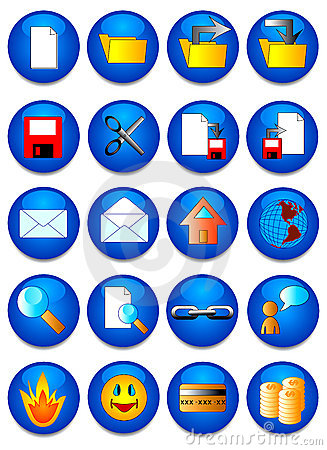 Free The Web Icon. Royalty Free Stock Image - 2415136