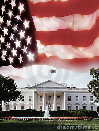 Free The White House - Washington DC - USA Royalty Free Stock Photography - 14964037