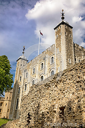 Free The White Tower Of The Tower Of London Stock Images - 95813764