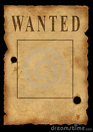 Free The Wild West. The Poster Royalty Free Stock Photography - 3996207