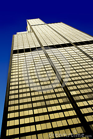 Free The Willis Tower In The Loop Area, West Facade, Chicago Stock Photo - 37709570