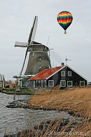 Free The Windmill Museum In The Amsterdam Royalty Free Stock Photo - 5479615