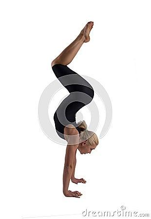 Free The Woman The Gymnast Stock Photos - 11460423