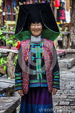 Free The Yao Nationality Women In Yunnan, China Royalty Free Stock Images - 79375509