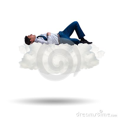 Free The Young Male Businessman Enjoying His Time During Vacation Stock Photos - 125539693