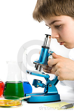 Free The Young Scientist Royalty Free Stock Photography - 5084927