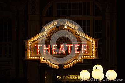 Theater Editorial Image