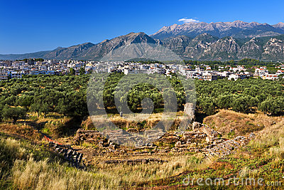 Theater of ancient Sparta, Greece