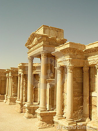 Free Theater At Palmyra, Syria Stock Images - 21526134