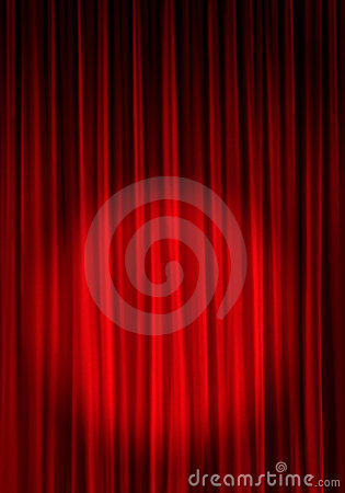 Free Theater Curtain Background Stock Photography - 2997762