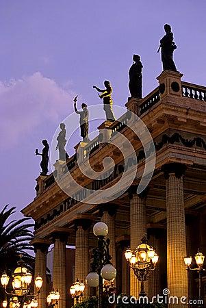 Theater- Guanajuato, Mexico