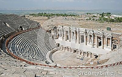 Theater in Pamukkale, Turkey