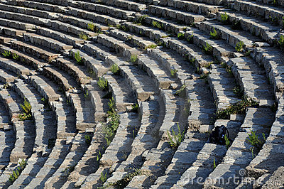 Theater Rows In Ephesus