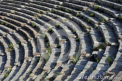 Theater Rows In Ephesus