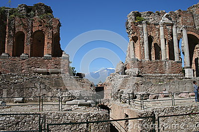 Theater of Taormina, Italy