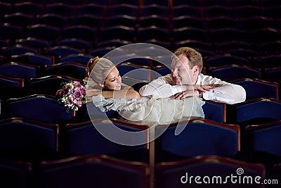 In the theatre