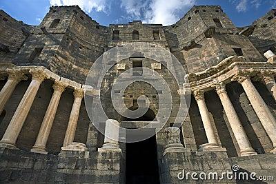 The theatre in Bosra