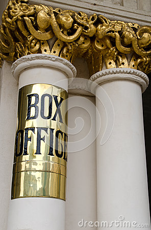 Free Theatre Box Office Sign Stock Images - 33393144