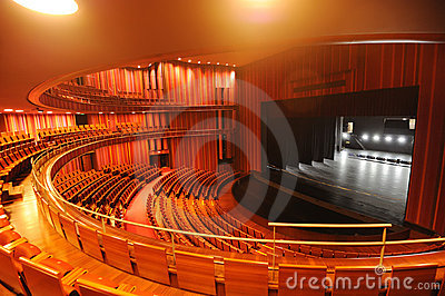 Theatre of China National Grand Theater Editorial Stock Image
