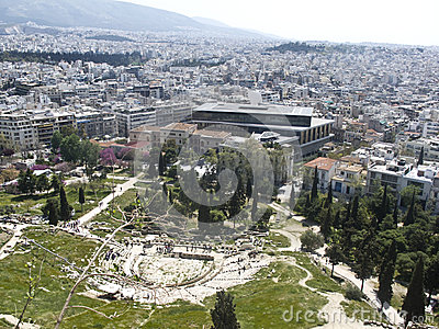 Theatre of Dionysus and Acropolis Museum
