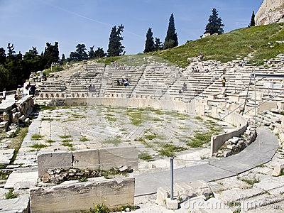 Theatre of Dionysus in Athens,