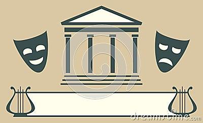 Theatre emblem