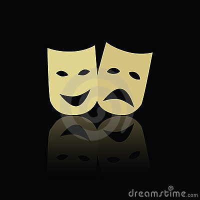 Theatre emotion masks