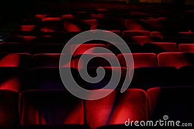 Theatre empty audience