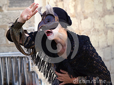 Theatre festival in Avignon Editorial Stock Image