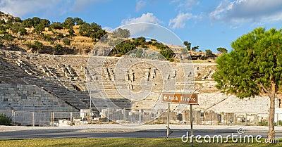 Theatre Of Halicarnassus Stock Image - Image: 34933371