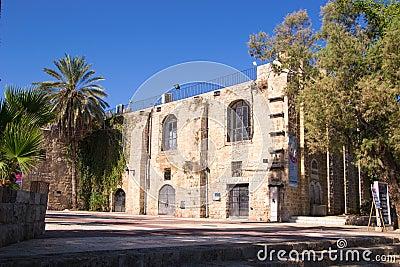 Theatre,Jaffa streets Editorial Image