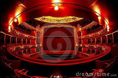 Theatre in red