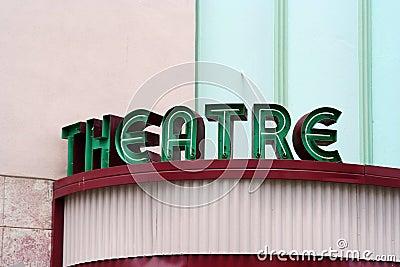 Theatre Sign