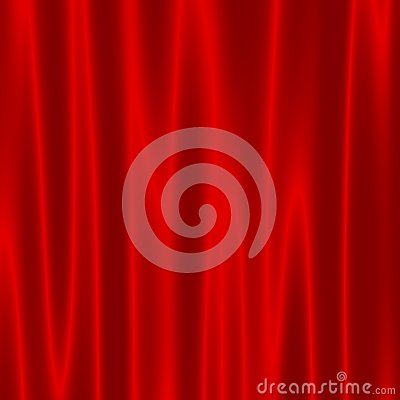 Free Theatre Stage With Red Velvet Curtains - Artistic Abstract Wave Effect - Background For Design Artworks - Theater Drapes - Surface Stock Photo - 46900290